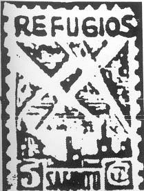Sello emitido por el Ayuntamiento de Sagunto para sufragar la construcción de refugios