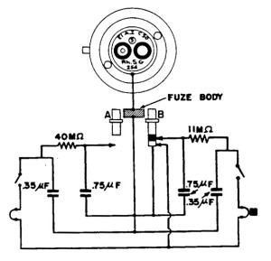 Espoleta eléctrica de impacto de tipo 5
