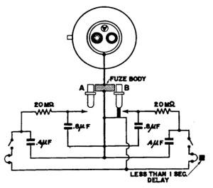 Espoleta eléctrica de impacto de tipo A